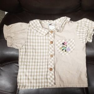 Disney Shirts & Tops - Disney Mickey & Minnie Mouse shirt